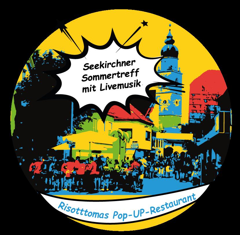 Risottomas Foodtruck beim Sommertreff Seekirchen mit Livemusik