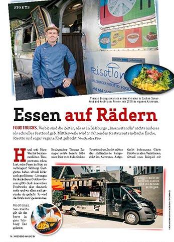 Pressebericht über Risottomas Foodtruck